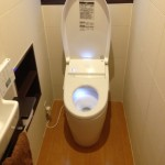 節水トイレにリフォーム