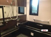 お風呂リフォーム 高級感のバスルームにリフォーム