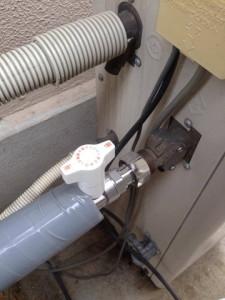 給水管交換 塩ビのパイプ