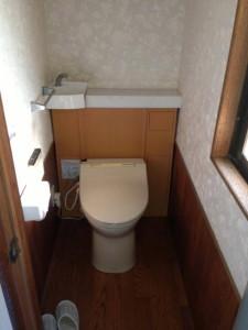 トイレリフォーム 旧式洋式トイレ 工事前
