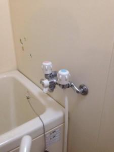 シャワー水栓の交換 工事前 水道工事四日市